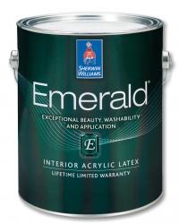 Воднодисперсионная акриловая латексная краска для интерьера EMERALD Interior Acrylic Latex 3,785 л