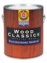 Интерьерный Полиуретановый Лак WOOD CLASSICS ® Polyurethane Varnish 3,785 л
