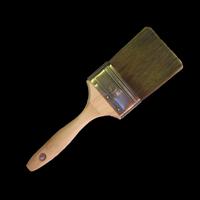Кисть из искусственной щетины (полиэстр) для покрытий на водной основе  7,5 см 3 дюйма