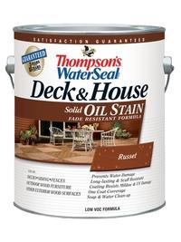 Масляная укрывная пропитка для дерева Thompson's WaterSeal Deck & House Solid Oil Stain 3,785 л