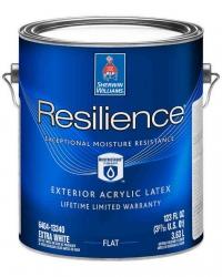 Фасадная краска Resilience Exterior Acrylic Latex 3,785 л