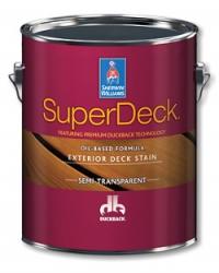 Фасадное полупрозрачное масло SUPERDECK Exterior Oil-Based Semi-Transparent Stain 3,785 л