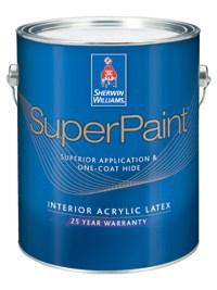 Интерьерная акриловая краска SUPERPAINT® INTERIOR ACRYLIC LATEX 3,785 л