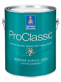 Интерьерная эмаль PROCLASSIC® Waterborne Interior Acrylic 0,95 л