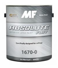 Акриловая матовая краска Absolute Flat 1670 0,95 л