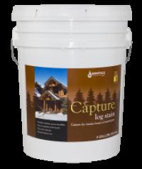 Цветная защитная пропитка для дерева Capture Log Stain 19 л