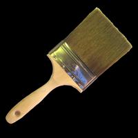 Кисть из искусственной щетины (полиэстр) для покрытий на водной основе 10 см 4 дюйма