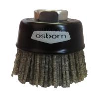 Щетка чашечная Osborn, абразивный нейлон — диаметр 60 мм, зерно 46