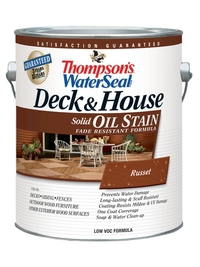 Масляная укрывная пропитка для дерева Thompson's WaterSeal Deck & House Solid Oil Stain 3,785 л