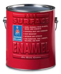 Алкидная эмаль универсальная All Surface Enamel Oil Base 0,95 л