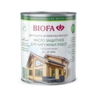 2043 Масло защитное для наружных работ с антисептиком BIOFA