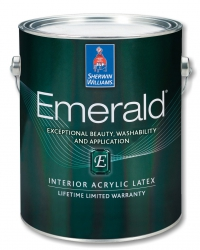 Воднодисперсионная акриловая латексная краска для интерьера EMERALD Interior Acrylic Latex 0,946 л