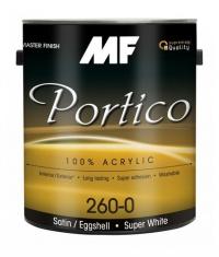 Акриловая моющаяся краска Portico 260 Satin/Eggshell 3,8 л