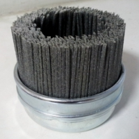 Щётка чашка SIT, абразивный нейлон — диаметр 100 мм, зерно 80, ворс плоский