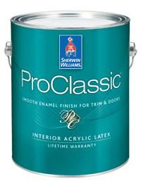 Интерьерная эмаль PROCLASSIC® 0,946 л