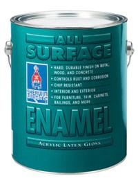 Интерьерная / Экстерьерная эмаль ALL SURFACE ENAMEL 0,946 л