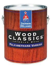 Интерьерный Водоразбавляемый Полиуретан-акриловый Лак Wood Classics® Waterborne Polyurethane Varnish 0,946 л