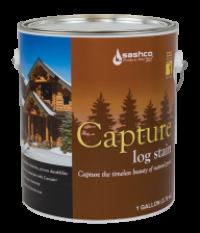 Цветная защитная пропитка для дерева Capture Log Stain 3,8 л
