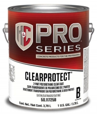 Полиуретановый лак H&C® ClearProtect Water-Based Polyurethane Clear Coat 3,785 л